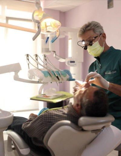 paziente clinica dentale