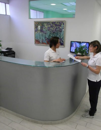 reception clinica dentale valdisieve